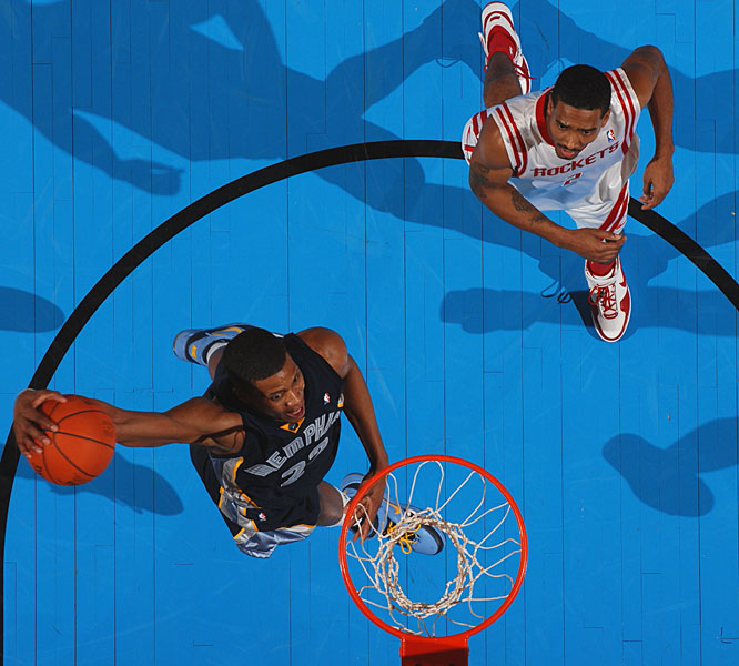 Rookie Rudy Gay was 9-for-14 from the field with several impressive dunks.
