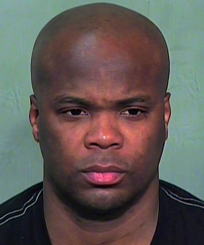 Arrested on a charge of soliciting prostitution during a Phoenix police undercover sting operation.