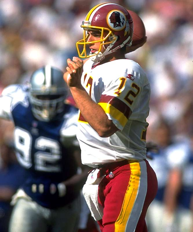 Turner helped Frerotte, a seventh-round pick out of Tulsa, become a Pro Bowl quarterback in 1996. Frerotte threw for a career-high 3,453 yards that season.