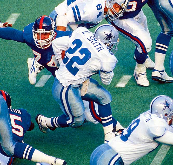 The NFL's all-time rushing king had a career-high 1,713 rushing yards in 1992, when Turner was coordinator.