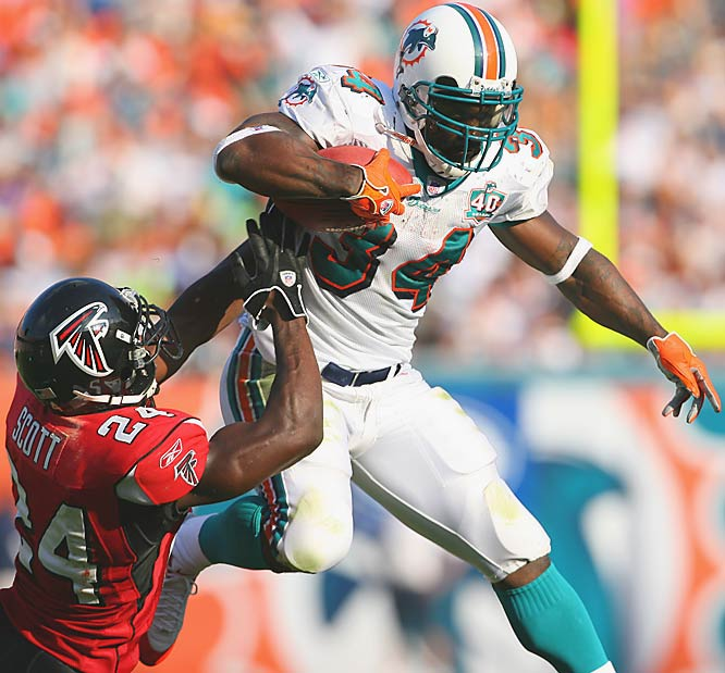Williams ran for a career-high 1,853 yards when Turner took over as offensive coordinator of the Dolphins in 2002.
