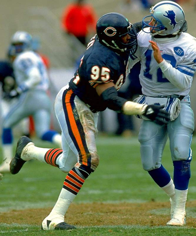 Defensive End <br>1983-1993, 1995 Chicago Bears, <br>1994 San Francisco 49ers, <br>1996 Indianapolis Colts, <br>1997 Philadelphia Eagles