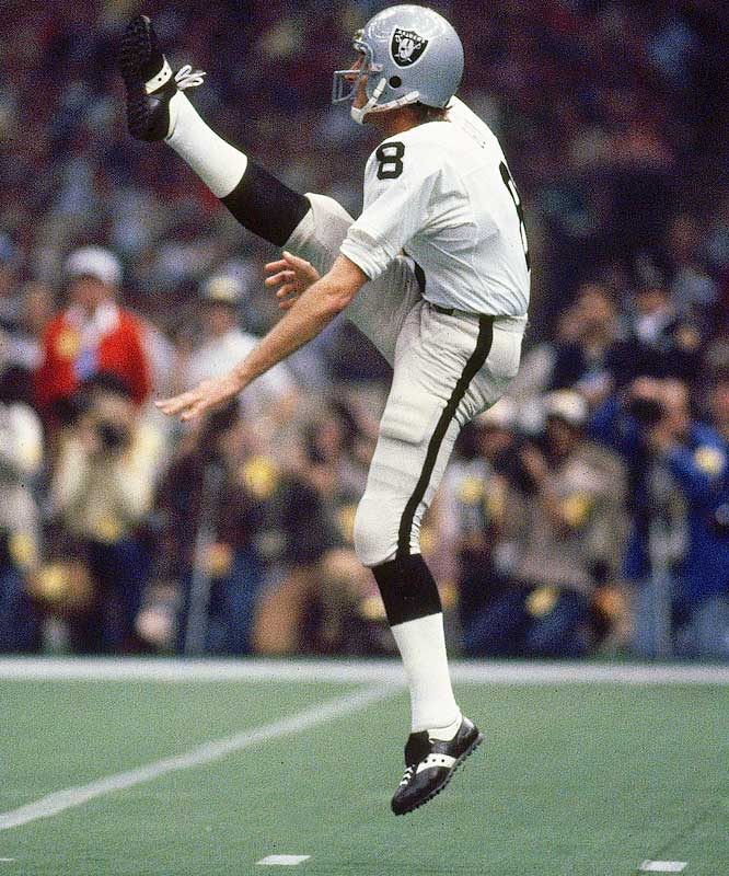 Punter <br>1973-1986 Oakland/Los Angeles Raiders