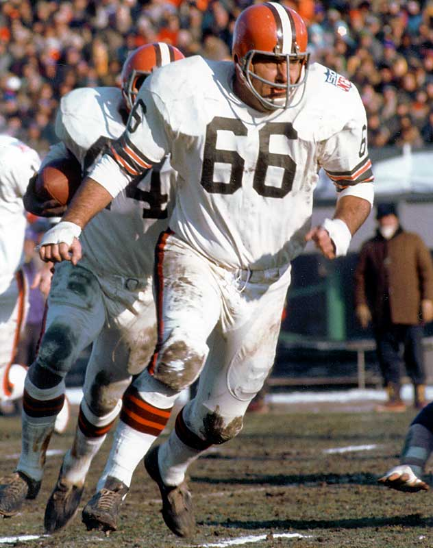 Guard <br>1958-1973 Cleveland Browns