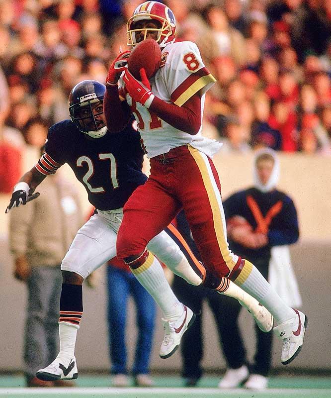 Wide Receiver <br>1980-1993 Washington Redskins, <br>1994 New York Jets, <br>1995 Philadelphia Eagles