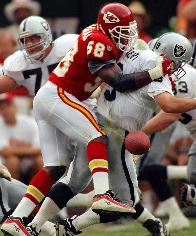 Linebacker <br>1989-1999 Kansas City Chiefs