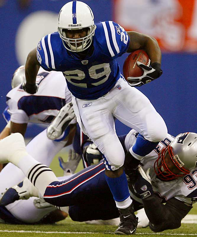 First-round pick Joseph Addai was a huge contributor to Indy's championship run. The speedy running back led all rookies with 1,081 yards rushing and was outstanding in the Super Bowl. The Colts also selected starting safety Antoine Bethea in the sixth round.