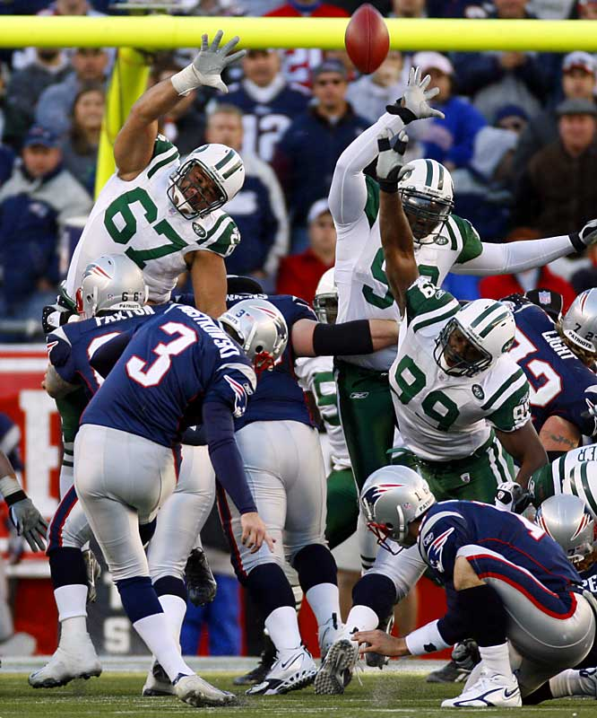 Lots of people shook their head when the Patriots let Adam Vinatieri go in free agency. New England filled the vacancy by taking Stephen Gostkowsi in the fourth round and he was outstanding in both the regular season and playoffs, showing much more range than Vinatieri. First-round pick Laurence Maroney was outstanding in the backfield and as a kick returner and third-round pick Dave Thomas is a very promising tight end.