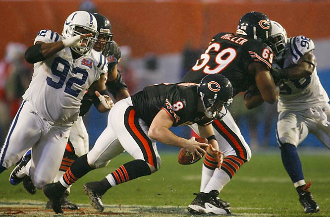 11 ... The Bears' 11 first downs matched the fifth-fewest in Super Bowl history and matched the fewest in 24 years, since the Dolphins had nine first downs against the Redskins in Super Bowl XVII.