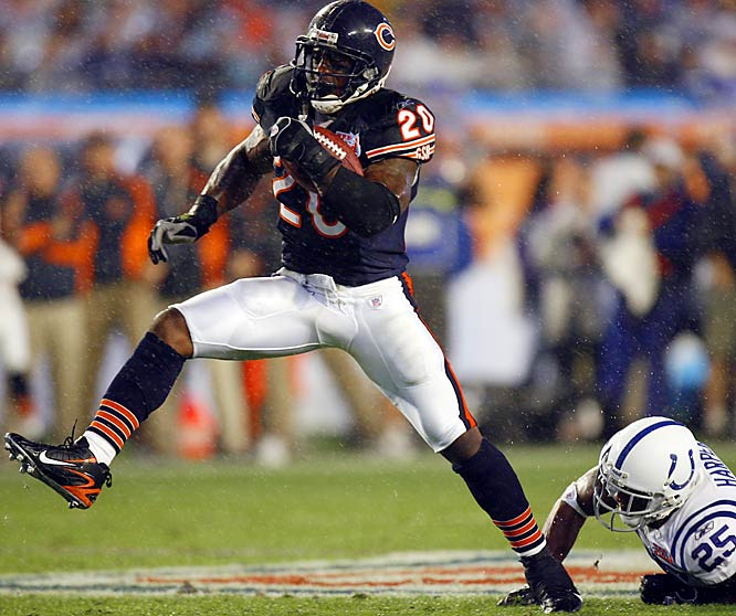 52 ... Bears running back Thomas Jones' 52-yard run was the longest by an NFC back in the Super Bowl in 19 years, since Timmy Smith's 58-yarder for the Redskins against the Broncos in Super Bowl XXII.
