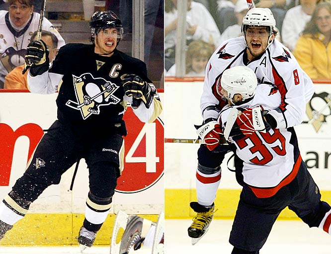 Vowing there would be a Game 7, Ovechkin made good on his promise with three assists as the Capitals went into Pittsburgh and came away with a gritty 5-4 win in OT. Losers of their last seven OT games, the Caps' couldn't hold their 4-3 lead when Crosby scored late in the third period. But David Steckel came to the rescue when he went to the net after winning a faceoff and tipped a shot by Brooks Laich past Marc-Andre Fleury 6:22 into OT. ''I think it's going to be great game,'' Ovechkin said. ''I think the league wants us to play Game 7.''