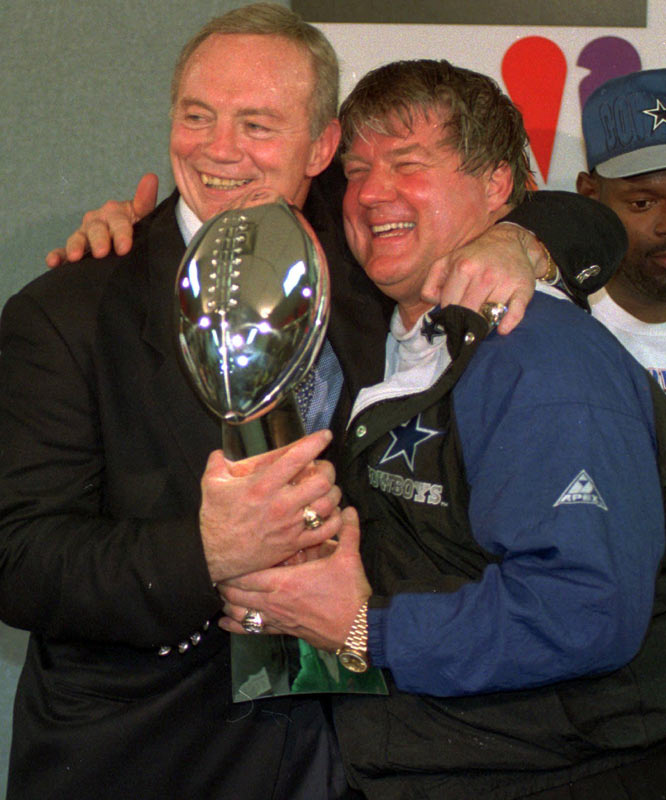 They won two Super Bowls with the Cowboys before their ugly breakup. Although Dallas would win another Super Bowl (with Johnson's players), the franchise has yet to return to its former glory under Johnson's successors. It's almost as if there is a <i>Ghost In The Machine</i>.