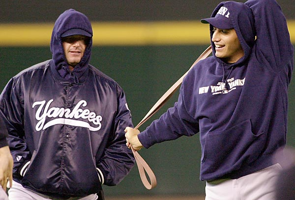 Pettitte already is back with the Yankees and Clemens may not be far behind. They made World Series appearances in their last two stops together, the Yankees (1999,2000,'03) and the Astros ('05). You know some Yankees fans would be <i>Driven To Tears</i> of joy to see them both in pinstripes together.