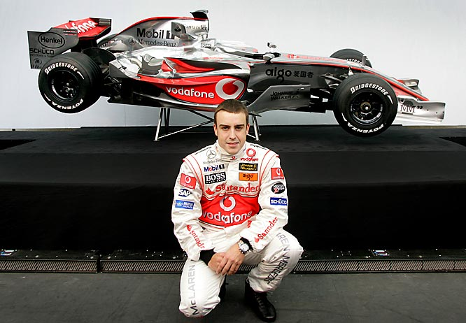 After unseating the heretofore unbeatable Michael Schumacher to become Formula One's youngest champion (24), Alonso successfully defended his crown in 2006 by winning six of his first nine races and holding off his rival in the second half of the season.
