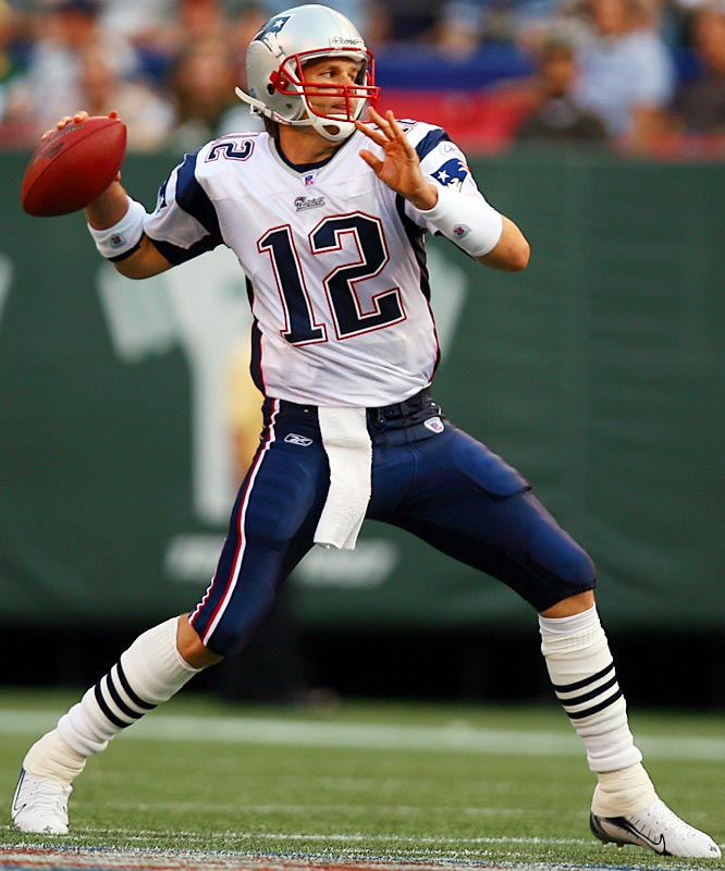 The consummate clutch leader is the first quarterback to win three Super Bowls before age 28. During a' transition season, Brady led the revamped Patriots to the 2007 AFC Championship Game -- the fourth appearance of his seven-year career.