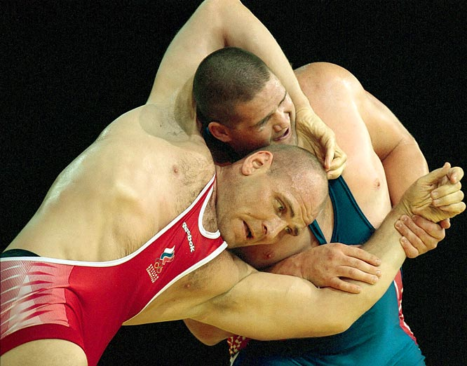 The three-time Olympic gold medalist went undefeated in international wrestling competition for 13 years (1987-2000), not even giving up a point during the last six years of the streak.