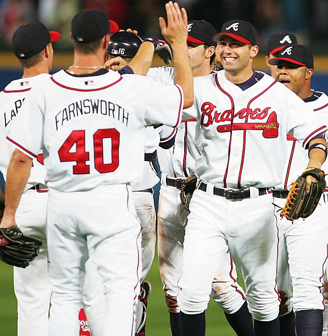 The Atlanta Braves' 14 consecutive division titles, beginning in 1991.