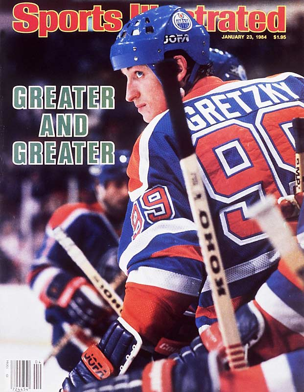 Wayne Gretzky's 51 consecutive games of scoring at least one point, beginning on opening night of the 1983-84 season.