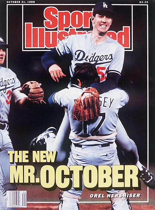 Orel Hershiser's 59 consecutive scoreless regular season innings, from Aug. 30, 1988 to April 5, 1989.
