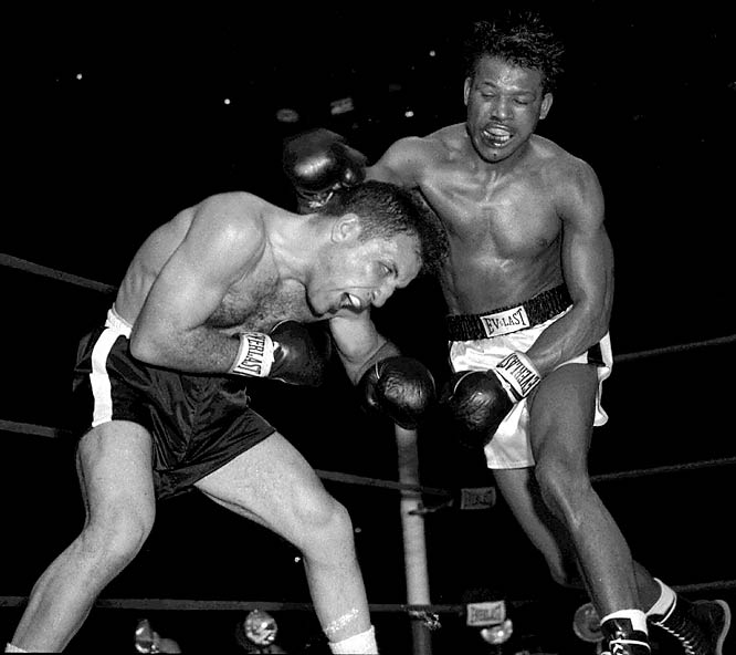 A five-time world middleweight champion, Sugar Ray Robinson won 91 consecutive fights from Feb. 19, 1943, through July 1, 1951.