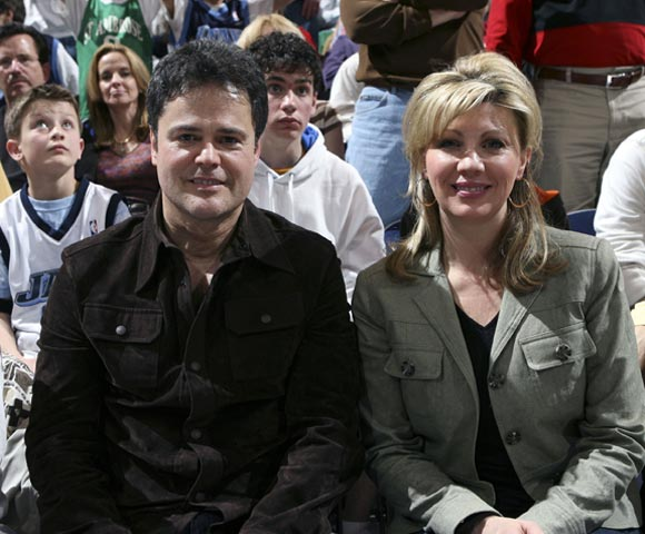 The Knicks have Spike. The Lakers have Jack. The Utah Jazz have ... Donny Osmond, who took in a game this week with his wife, Debbie.