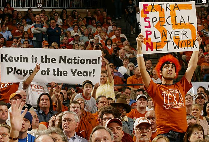 It's no secret who these Longhorn fans think deserves the National Player of the Year Award.