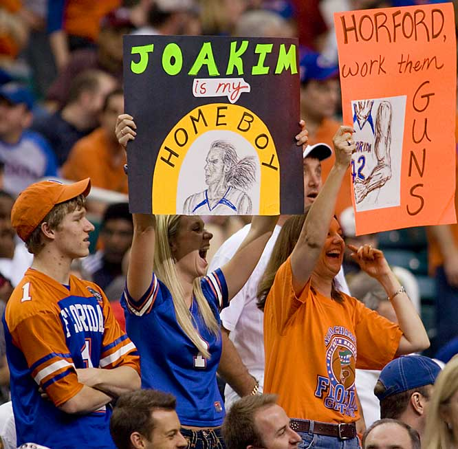 Joakim is the homeboy of many Florida fans, but can the Gators repeat as national champions? Stay tuned ...