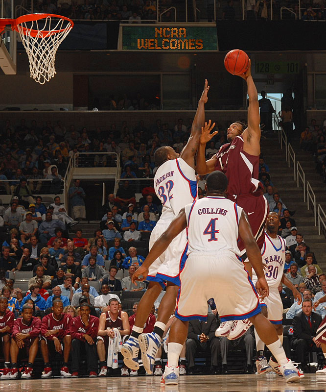 Southern Illinois' Randal Falker had 11 points and nine rebounds in the Salukis' loss.