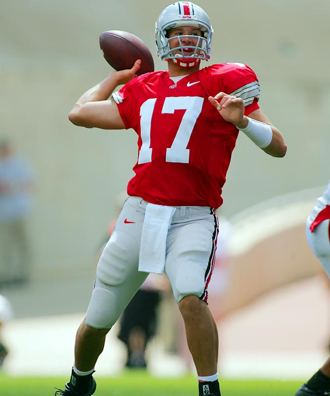 Heisman Trophy winner Troy Smith is gone and whoever wins the three-way QB competition between Todd Boeckman (pictured), Robbie Schoenhoft and Antonio Henton will have huge shoes to fill. On top of that, Ted Ginn Jr., Anthony Gonzalez and Antonio Pittman all left early for the NFL.