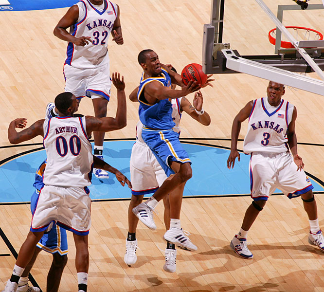 Arron Afflalo's team-high 24 points led the Bruins to the Final Four for the second straight season.