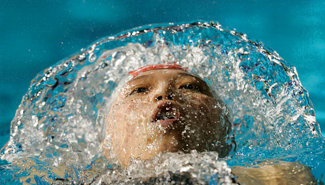 Qi Hui of China failed to qualify for the finals in the 200m individual medley.