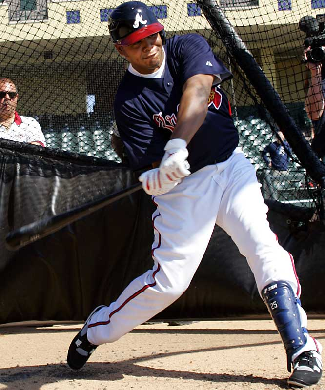 Andruw Jones has hit at least 26 home runs a season since 1998.