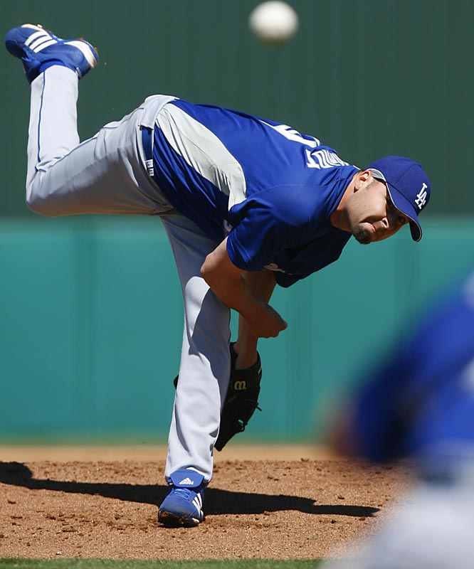 The Dodgers signed Jason Schmidt to a three-year, $47 million contract in the off-season, giving their rotation a significant boost.