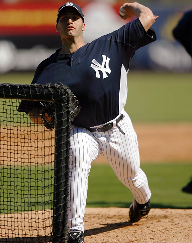 Familiar face: Andy Pettitte returns to the Yankees after three seasons with the Astros.