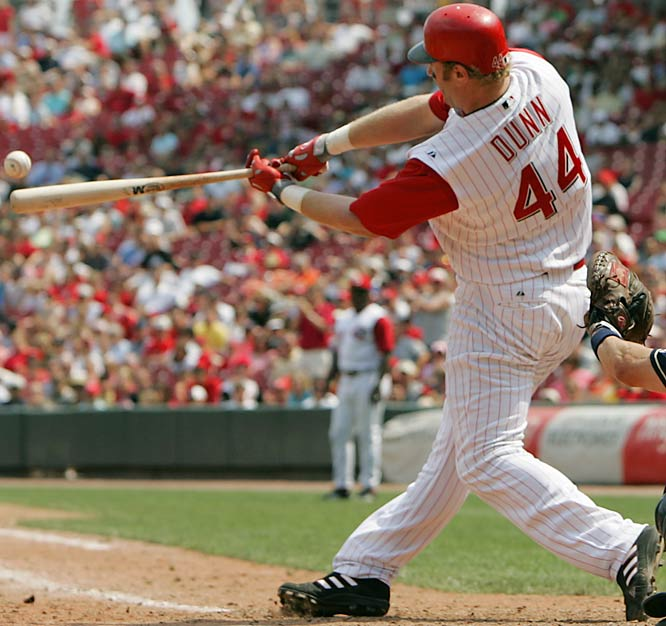 2007 PECOTA Projections: <br>.267 BA, 40 HRs, 102 RBIs<br><br>How can a guy who hit 40 home runs and drove in 92 runs get better? By improving his batting average, for one (.234 last year). And by continuing to draw walks (PECTOA projects the 27-year-old to retain his power over the next three seasons while still racking up 90-100 free passes a year).
