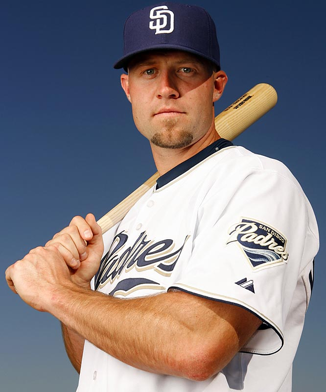 Acquired in the off-season trade that sent second baseman Josh Barfield to the Indians, the 25-year-old hit .389 at Double-A Akron last year, then became the first batter in history to hit a grand slam off the first pitch he saw in the big leagues.