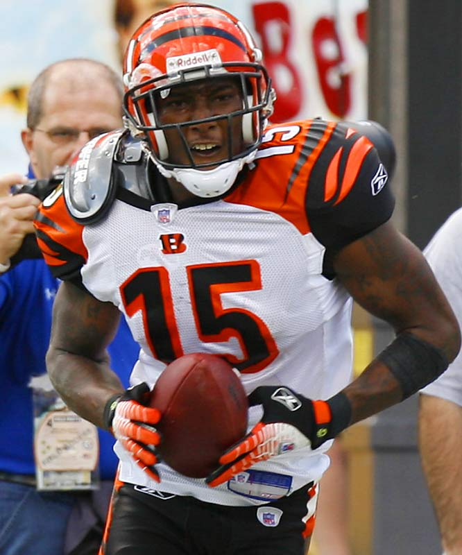 Henry has not been able to stay out of legal trouble since he entered the NFL in 2005. The Bengals receiver is extremely talented, but off-field issues have tainted a promising career. Henry has been arrested four times over the last two years, for charges including marijuana possession, illegal possession of a firearm, drunken driving and providing alcohol to minors.