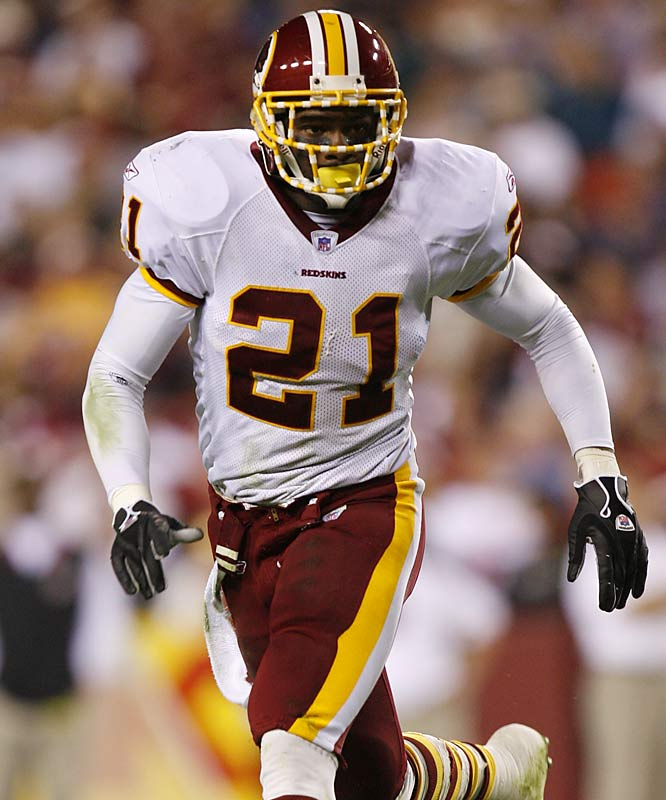 Taylor has had legal problems since entering the NFL. He faced felony assault charges from a 2005 incident in Miami, but eventually reached an agreement with prosecutors that resulted in just community service. Taylor is also controversial for his hard hits on the field. At this year's Pro Bowl, the Redskins safety laid a devastating hit on Bills punter Brian Moorman.