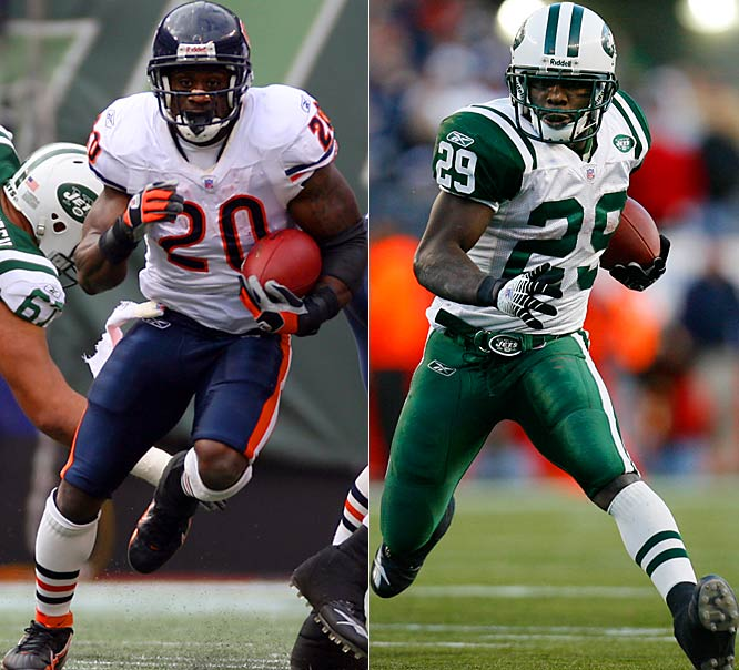 The Jets dealt a second-round pick to the Bears for Jones and will likely make him a No.1 running back. But don't expect Washington to disappear. The shifty back ran for 650 yards in part-time duty last year and will be a nice complement to the more straight-forward Jones.