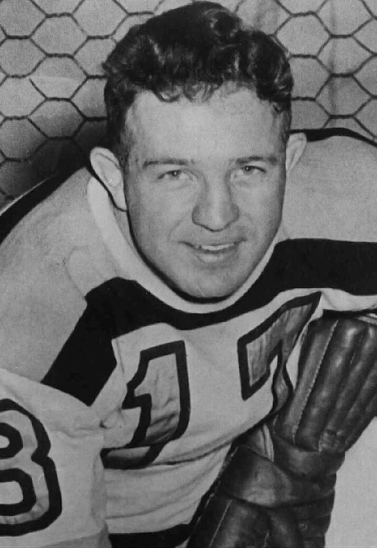 The right wing on Boston's legendary Kraut Line with Milt Schmidt and Woody Dumart won the Byng three times (1940, '41, '47). Bauer and his linemates served a mid-career stint in the Royal Canadian Air Force, seeing combat during World War II.