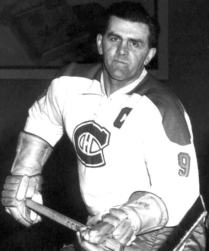 Never a gentle soul, the legendary Hall of Famer Richard was given a match penalty and suspended for the rest of the season after he laid lumber to the skull of the Bruins' Laycoe and punched linesman Cliff Thompson for good measure. Canadiens fans were outraged by the loss of their team's leading scorer and pelted NHL president Clarence Campbell with eggs at a game the following season before engaging in a wild riot.