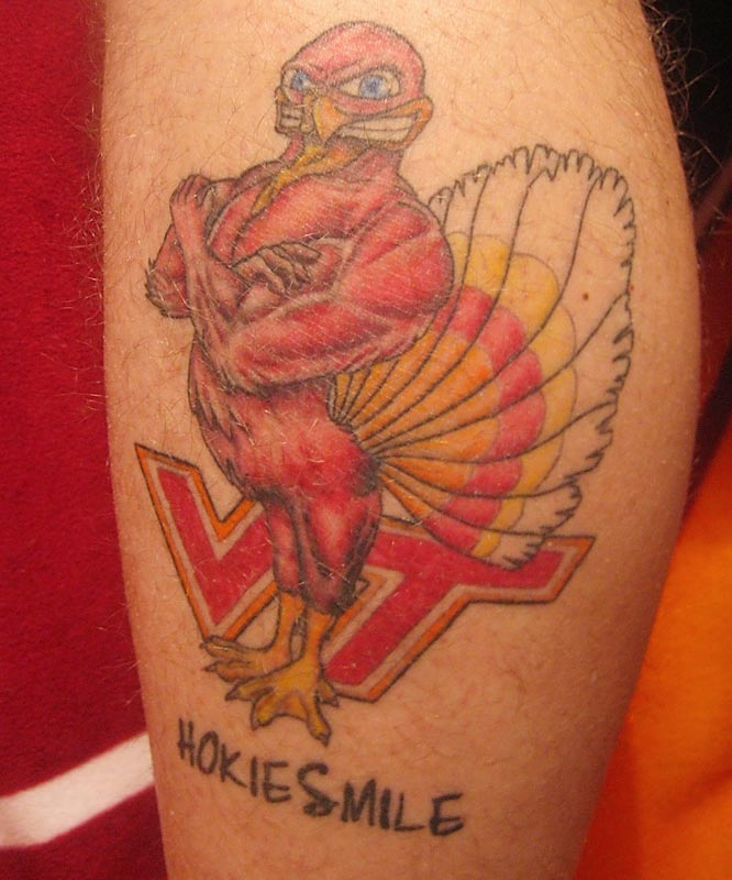 Click the link on the last photo to see last week's Fans Tattoo gallery and for the email address to send us a photo of your sports-related tattoo.