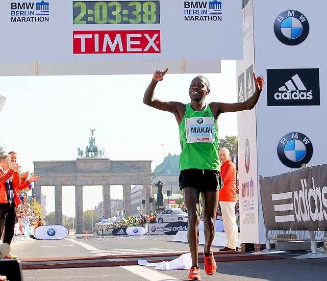 It's still the fastest marathon on earth. The last four marathon world records have been set at the Berlin Marathon. Makau, a Kenyan, broke Ethiopian legend Haile Gebrselassie's 2008 record by 21 seconds.
