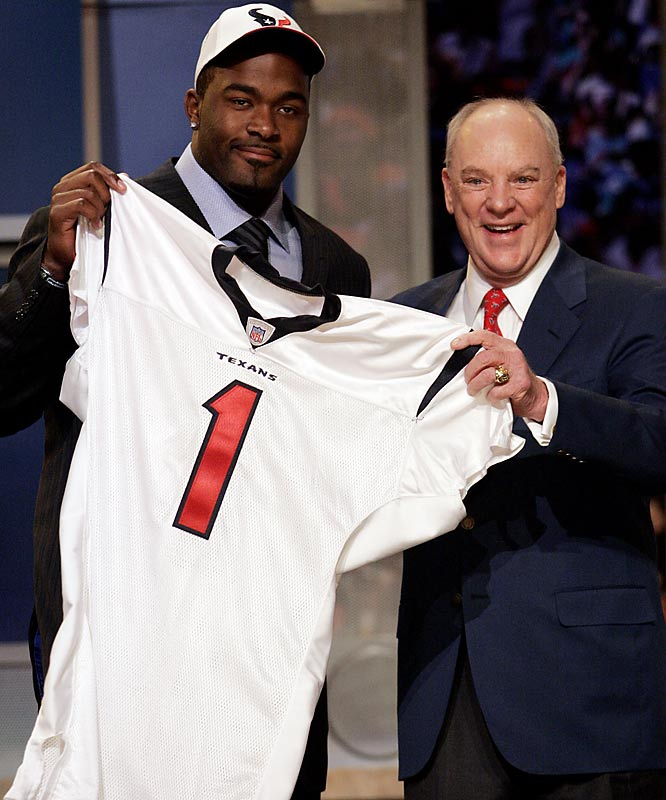 The Houston Texans, for using the first pick in last year's draft on Mario Williams instead of Reggie Bush or Vince Young.