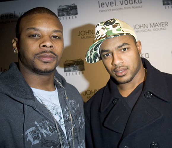 Chiefs running back Larry Johnson (right) and Jets safety Kerry Rhodes attended John Mayer's concert at Madison Square Garden earlier this week. Yeah, we didn't believe it either, until we saw the picture.