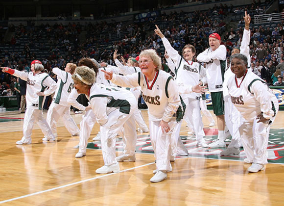 These Milwaukee Bucks dancers show Justin Timberlake that he's not the one who brought sexy back.