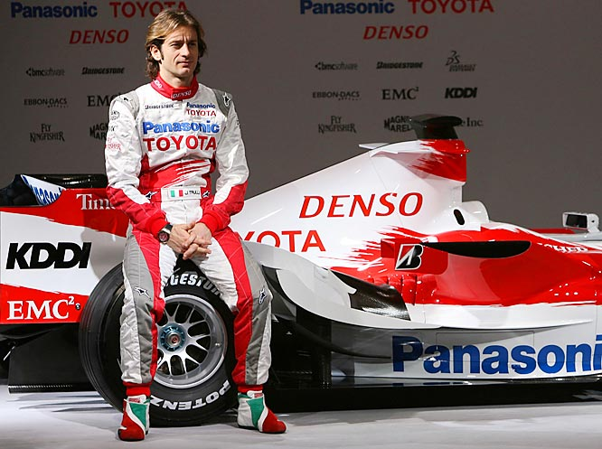 At 33, Trulli has one win in 166 starts and was 12th in the championship last year. The pressure is on for him to perform better. If he doesn't, Trulli could be out of F1 at the end of the season.
