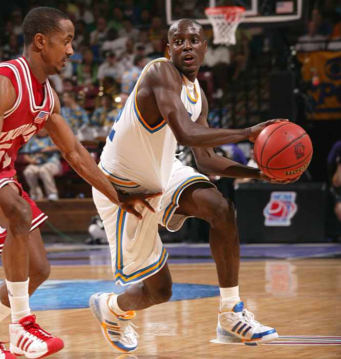 Darren Collison scored 15 points to lead the Bruins into a Sweet 16 matchup with Pitt.