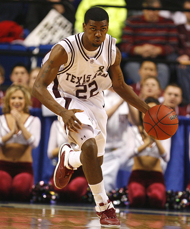 Dominique Kirk had 21 points and six rebounds while playing all 40 minutes of the Aggies' victory.