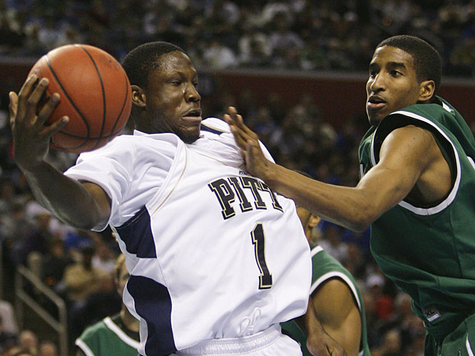 Keith Benjamin chipped in six points in 15 minutes of action to help Pitt avoid another first-round exit.